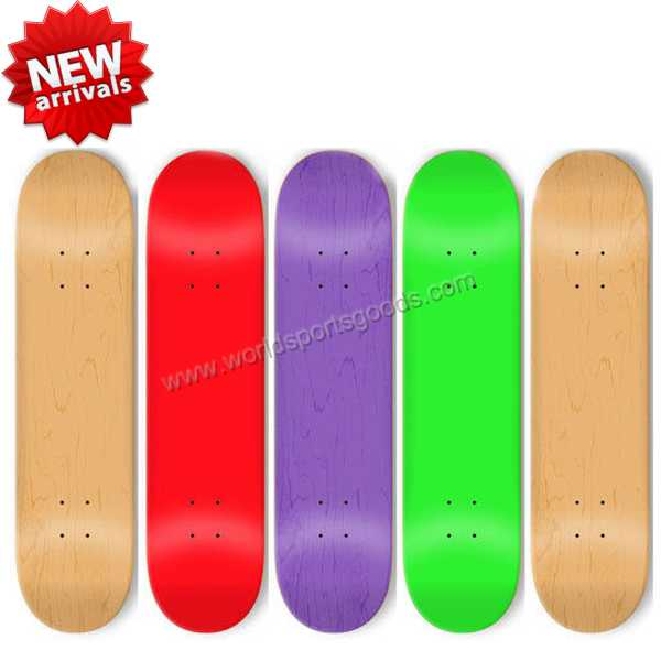 2019 wholesale hardrock maple mini wood skateboard deck