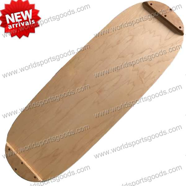 Popular Yoga Wooden Exercise Balance Cushion Board,balance board wood