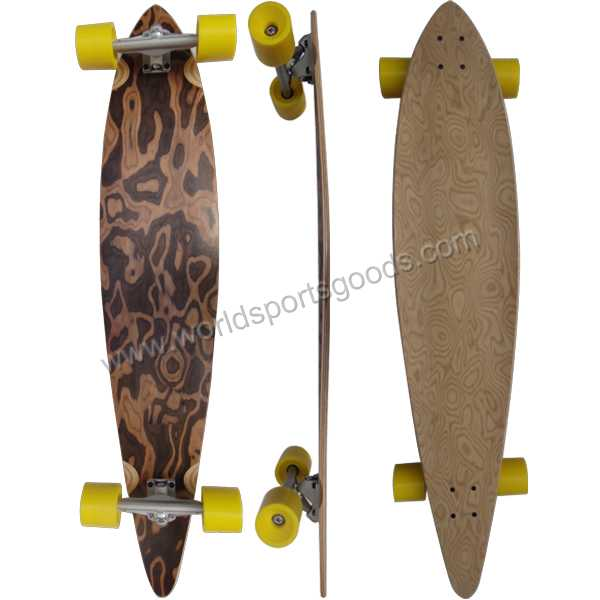 41*09 New fashion long board skateboard in DongGua manufacturer
