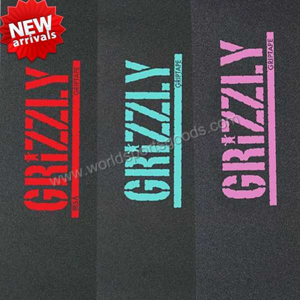 33x9inch OS780 Black and Color Skateboard Griptape